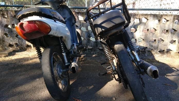 escapamento de moto
