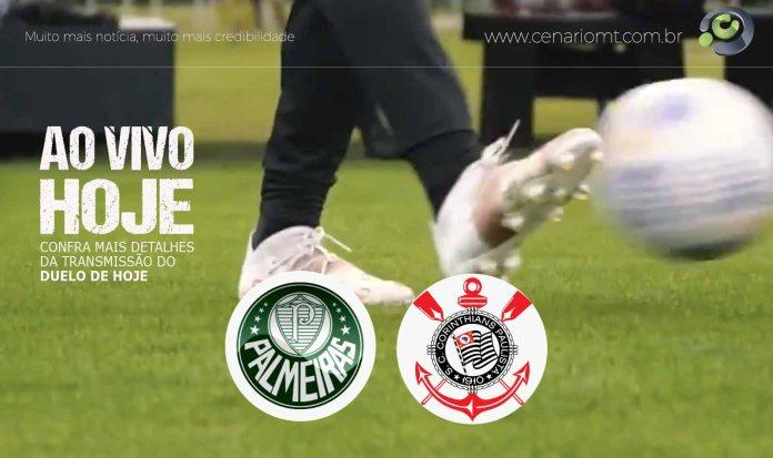 Palmeiras x Corinthians: onde assistir, escalações, horário e arbitragem
