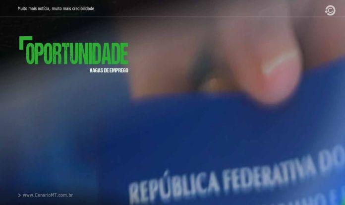 OPORTUNIDADE - VAGAS DE EMPREGO