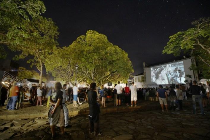 Exibição do filme O Dia do Galo. Foto: Leo Lara/Universo Produção