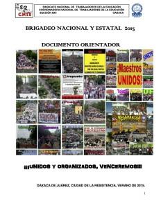 Documento Orientador para el brigadeo nacional y estatal 2015