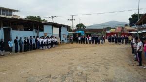 Inicio ciclo escolar Primaria Jaboco Herrera
