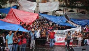 Marcha mitin en apoyo al sector salud(2)