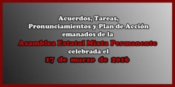 ACUERDOS Asamblea Mixta 17 marzo 2016