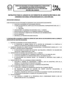 Docs e instructivo para formatos de acreditacion XXII Cong Secc Ext 2017