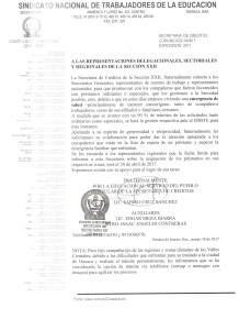 Comunicado de la Secretaría de Créditos marzo de 2017