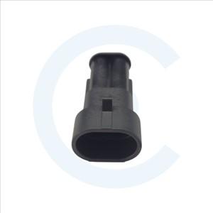 Conector conducto-conducto Superseal 1.5 Macho 2 pines con protección