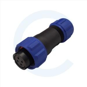 003011609 Conector Circular SP13 4 pines Hembra SP13 - WEIPU SP1310 _ S4IN - Cenel Europe Slu. - Tienda online de repuestos y material electrónico