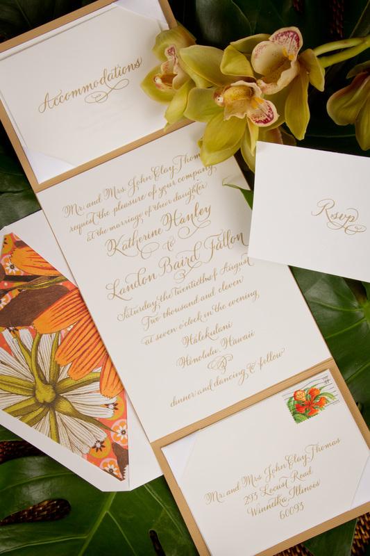 Picture The Wedding Invitation