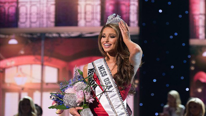 Entertainment News - Miss USA 2014, Nia Sanchez of Nevada crowned
