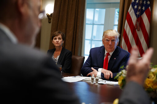 Donald Trump, Tom Wolf, Kim Reynolds
