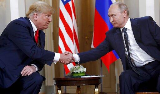 Donald Trump, Vladimir Putin