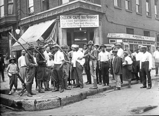 Ogden Cafe during the 1919 Chicago Race Riots