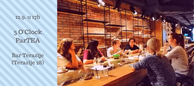 5 O'clock parTEA – besplatan čas konverzacije na engleskom u Beogradu