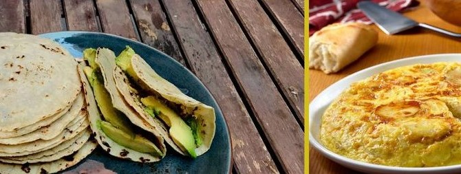 Španska i meksička tortilja