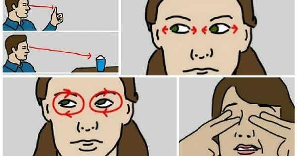 4 ejercicios de yoga para aliviar la fatiga ocular
