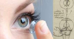 ¡Evolución de los lentes de contacto! Piezas de vidrio, plástico e hidrogel