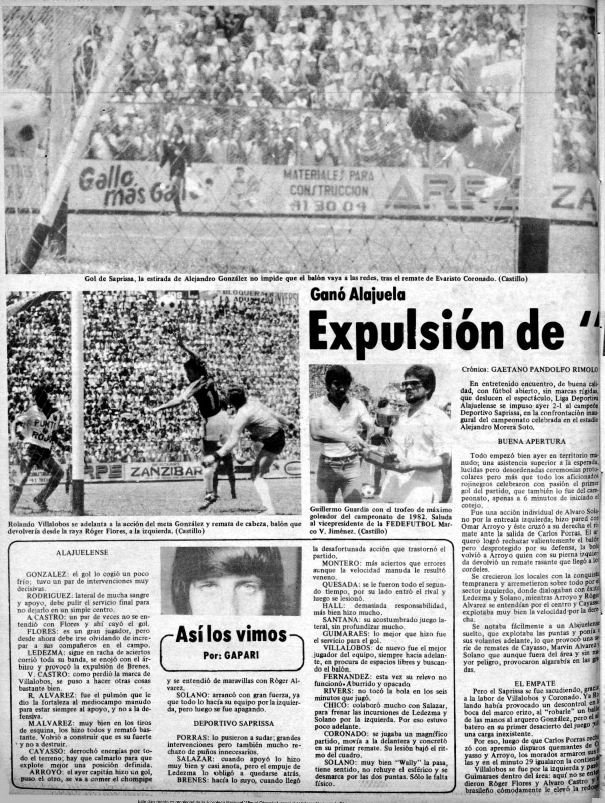 27 de febrero 1983
