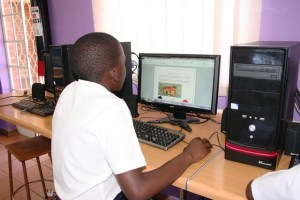 computer lessons at centenary primary school 2