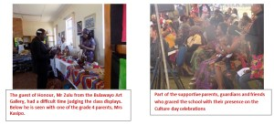 culture day celebrations at centenary primary school