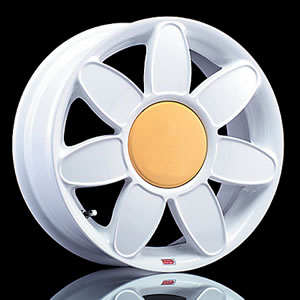 Mille Miglia Daisy replacement center cap - Wheel/Rim centercaps for Mille Miglia Daisy