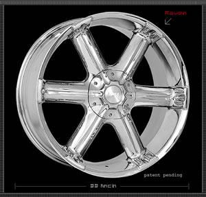 Apex Raven replacement center cap - Wheel/Rim centercaps for Apex Raven