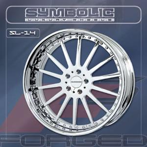 Symbolic SL14 replacement center cap - Wheel/Rim centercaps for Symbolic SL14