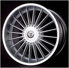 Alpina Styling 2 replacement center cap - Wheel/Rim centercaps for Alpina Styling 2