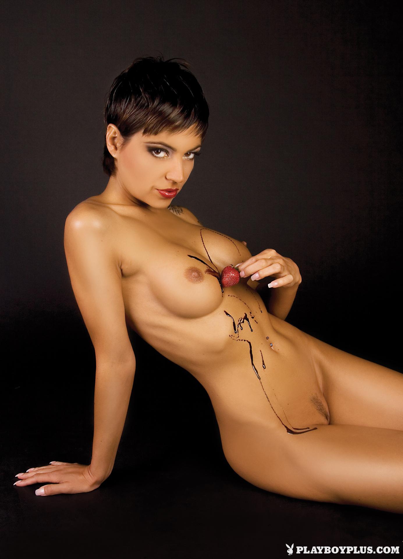 Petra Krbavcova in Playboy Slovakia  Centerfolds Blog
