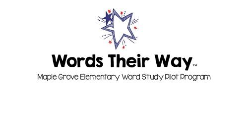 Words Their Way™ Information / Overview