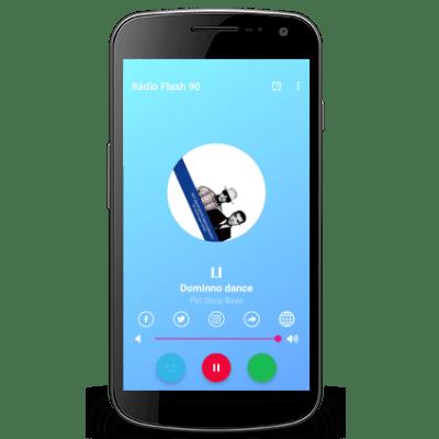 Retorno do desenvolvimento e atualizações de apps android para rádios