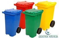 Contêiner Plástico com Rodas – Mod. CM 004