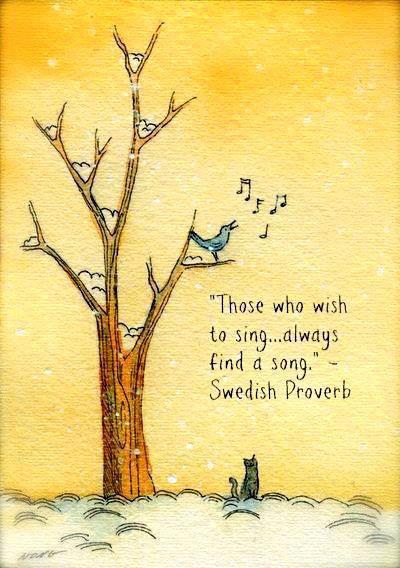 Zij die willen zingen…