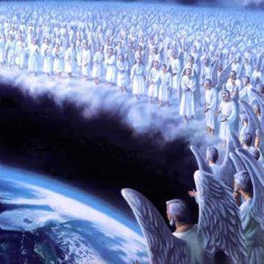 Engelenwolken.