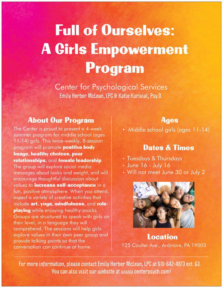 Girls-Empowerment-Flier