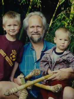 Picking bamboo 1992