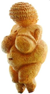 The Venus of Willendorf c. 22,000 B.C.E.