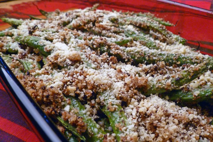 Cheese and Pepper Green Beans