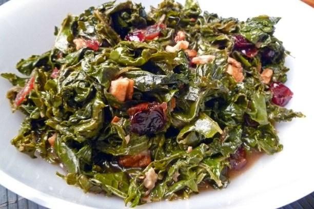 Cranberry Pecan Kale