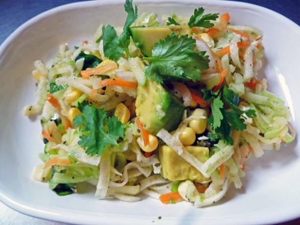 Cucumber Salad With Avocado