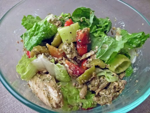 Mexican Fish Salad