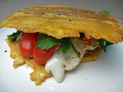 Plantain Breakfast Sandwich