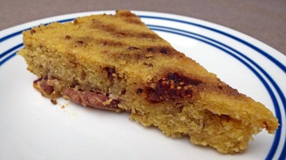 Polenta Fig Cake