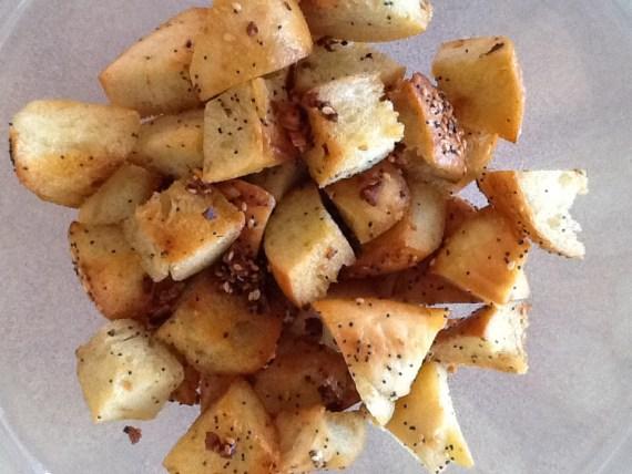Bagel Croutons
