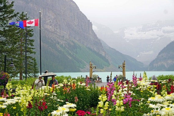 Lake Louise Fairmont Grounds
