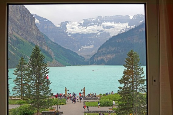 Lake Louise Fairmont View
