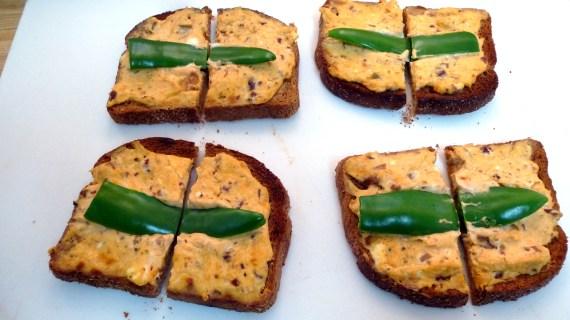 Jalapeno Popper Toast