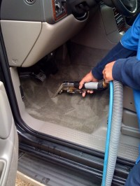 How To Scrub Car Carpet