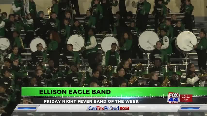 BAND OF THE WEEK: ELLISON EAGLES