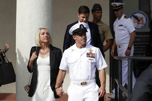 Acquitted Navy SEAL thanks Fox News, Trump for their support